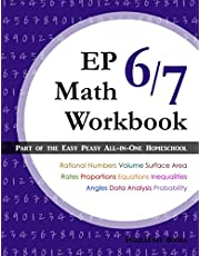 EP Math 6/7 Workbook: Part of the Easy Peasy All-in-One Homeschool