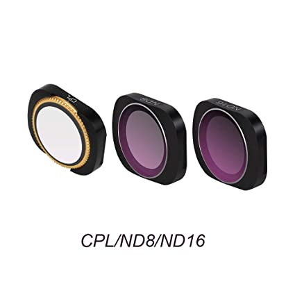 Camera Lens Filter Kit Set UV CPL ND4//8//16//32//64 Star Filter Compatitable with DJI OSMO Pocket Lens Accessories UV