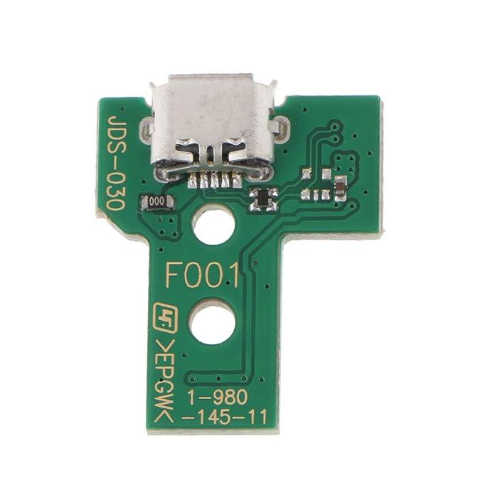 1 Pieza de Placa de Puerto de Carga para Sony PS4 Hecho de Plástico