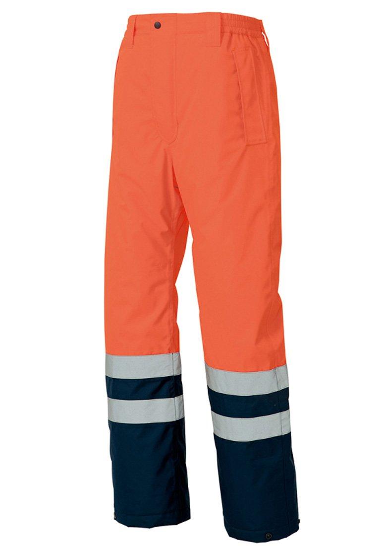 (タルテックス)TULTEX ISO20471 基準クリア 高視認性 防水防寒パンツ 【防水防風撥水保温つっぱり解消/耐水圧3,000mmクラス】 #AZ-8962 B00QUZ44AG LL|オレンジ/ネイビー