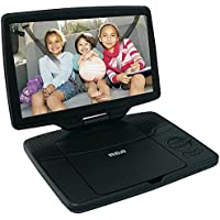 RCA 10 Portable DVD Player with Swivel Display (DRC98101S) - Black (Certified Refurbished)