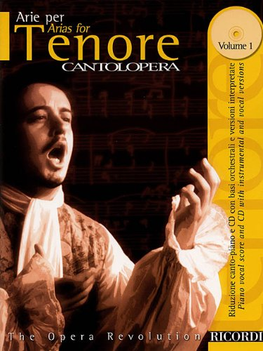 Arias For Tenor, Vol. 1