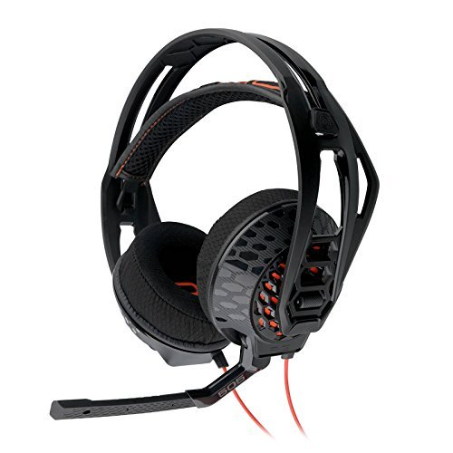 - Plantronics Rig 505 Lava Stereo Gaming Headset - Black (Renewed)