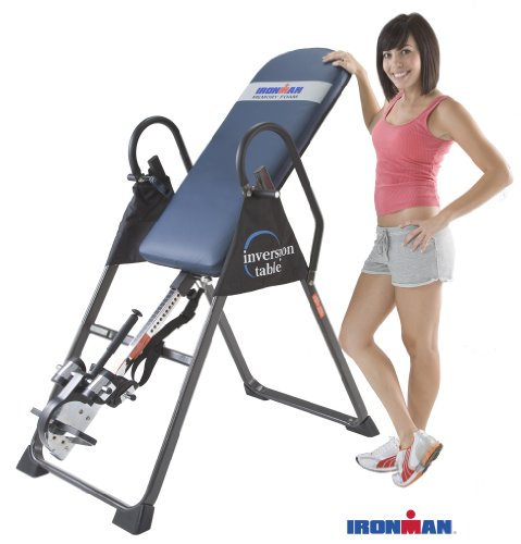 IRONMAN Fitness Gravity 4000 Highest Weight Capacity Inversion Table Equipment Mat