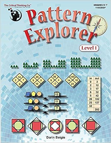 Pattern Explorer Level 1 Grades 5-7