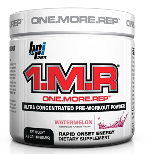 BPI Sports 1.M.R Ultra Concentrated Pre-Workout Powder, Wate