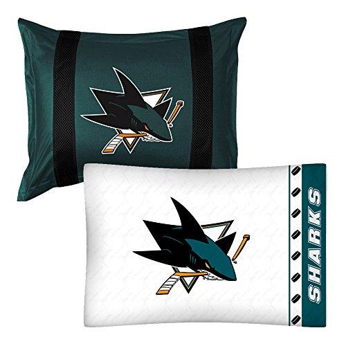 san jose sharks pillow case - 4