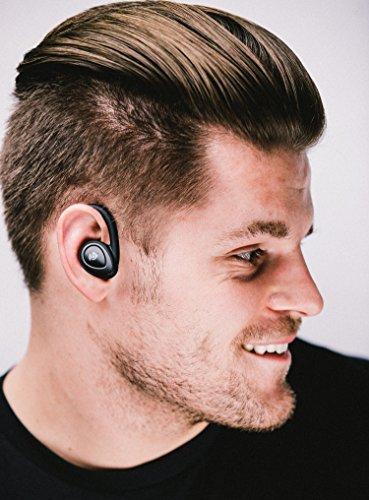 Amped Truly Wireless Sport Earbuds - Truly Wireless Sport Headphones - Bluetooth Earbuds - Bluetooth Headphones - Portable Charging Station - Built in Microphone - Dual Stereo Headphones - - Mockingbird Station