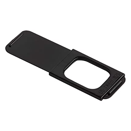 """buy online 977a6 47036 C-SLIDE The Original Sliding Webcam Cover 1.0 Black Laptop Privacy Cover 
