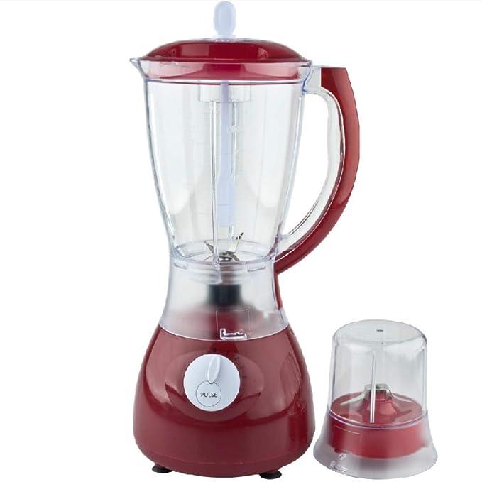 Love House Licuadora juicer Portable, Mezclador Personal Copa Personal Mini licuadora Smoothie juguera con Taza de Viaje de Viaje-Rojo: Amazon.es