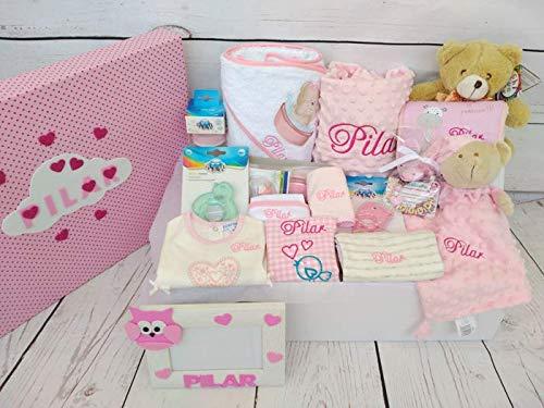 Set Regalo Bebé - Canastilla personalizada para niño o niña, el ...