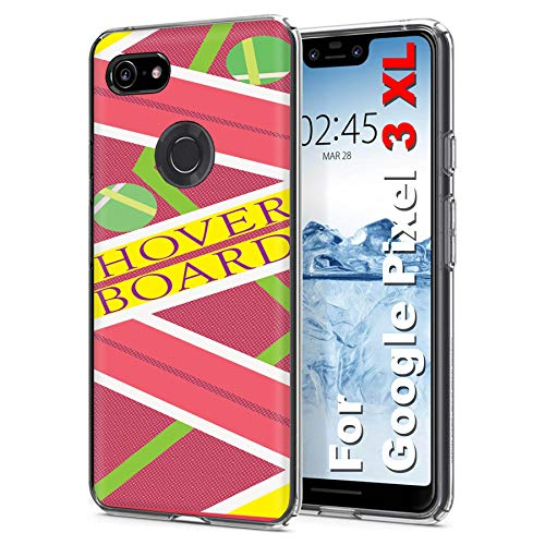 [Case86] [Pixel 3XL] 6.3 in Screen LCD   Gelflex Phone Case [Hoverboard Print]