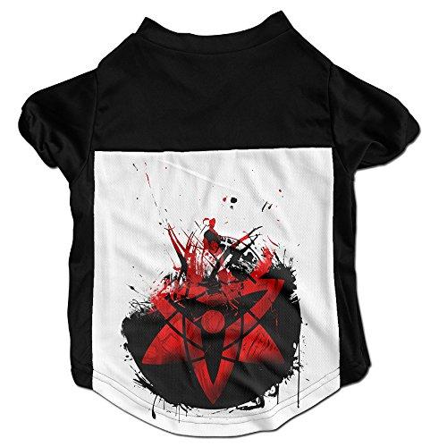 101Dog Sasuke Uchiha Puppies And Dog Jersey Shirts Large