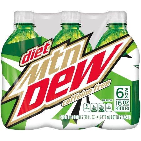 Diet Mountain Dew Caffeine Free