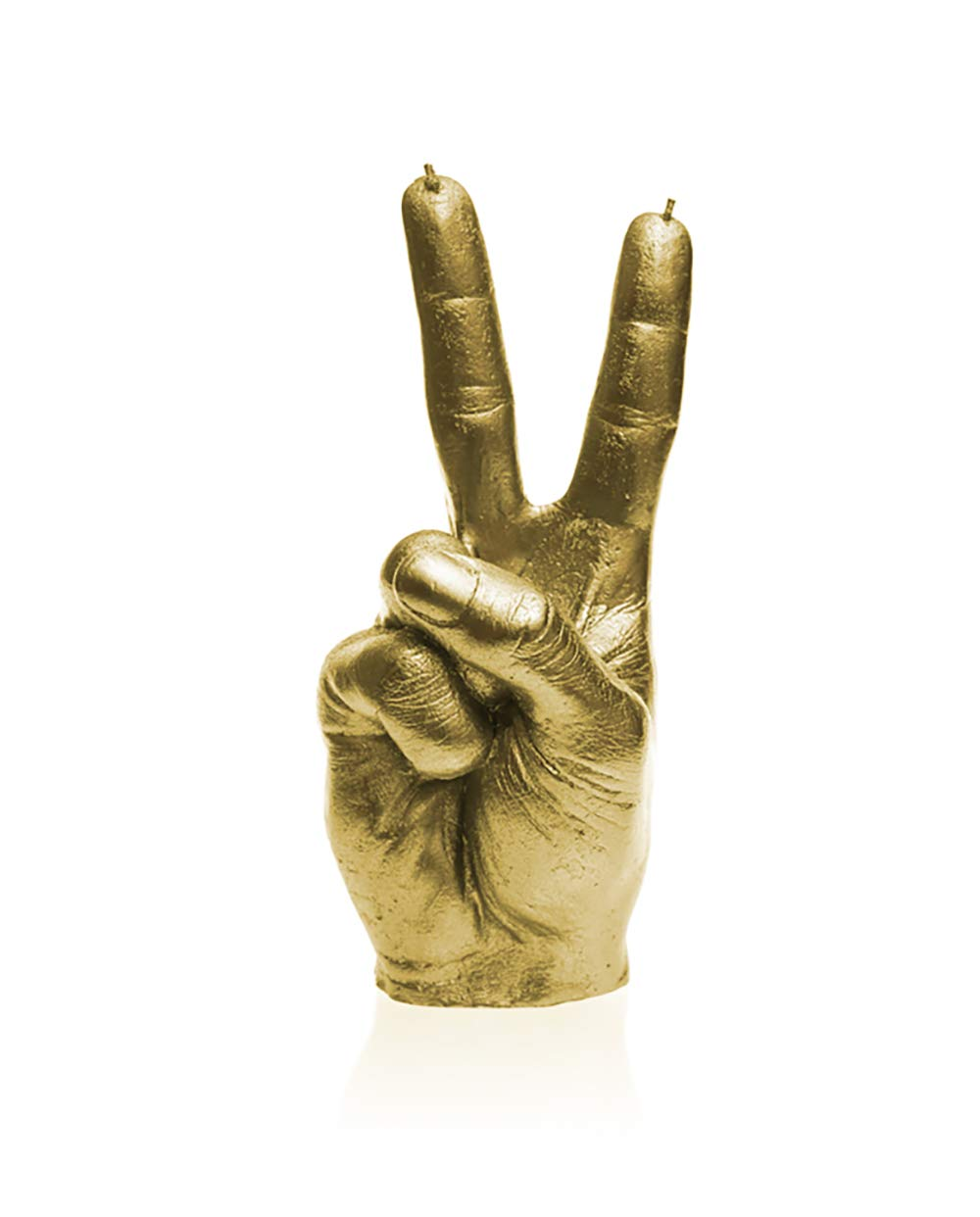 Candellana Candles- Peace Finger- Special Edition Colors (Classic Gold)