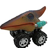 Ocamo Dinosaur Toy Cars with Big Tire Wheel for 3-14 Year Old Boys Girls Creative Gifts for Kids