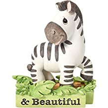 """Precious Moments 162414 Baby Gifts, """"All Things Bright & Beautiful"""", Zebra, Resin Figurine"""