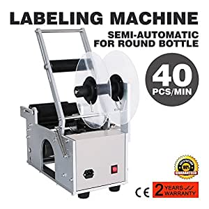 Maxwolf Label Applicator Label Applicator Machine Bottle Labeling Machine Bottle Labeler Semi-Automatic Round for 12-90 mm
