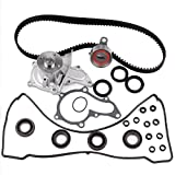 ECCPP Timing Belt Kit For 1994 1995 1996 1997 Toyota Corolla Celica GEO PRIZM 1.8L 7AFE Timing Belt Kit Valve Cover Gasket Water Pump