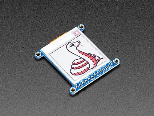 Adafruit 1.54'' Tri-Color eInk/ePaper Display with SRAM - Red Black White by Adafruit