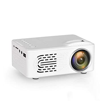 CHENG Mini proyector 1080P, Mini proyector Portable de vídeo HD ...