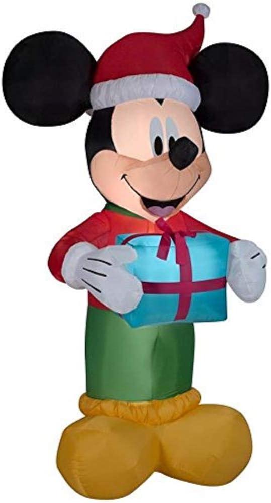 Amazon.com: Disney 8.99-ft X 4.59-ft con luz Mickey Mouse ...