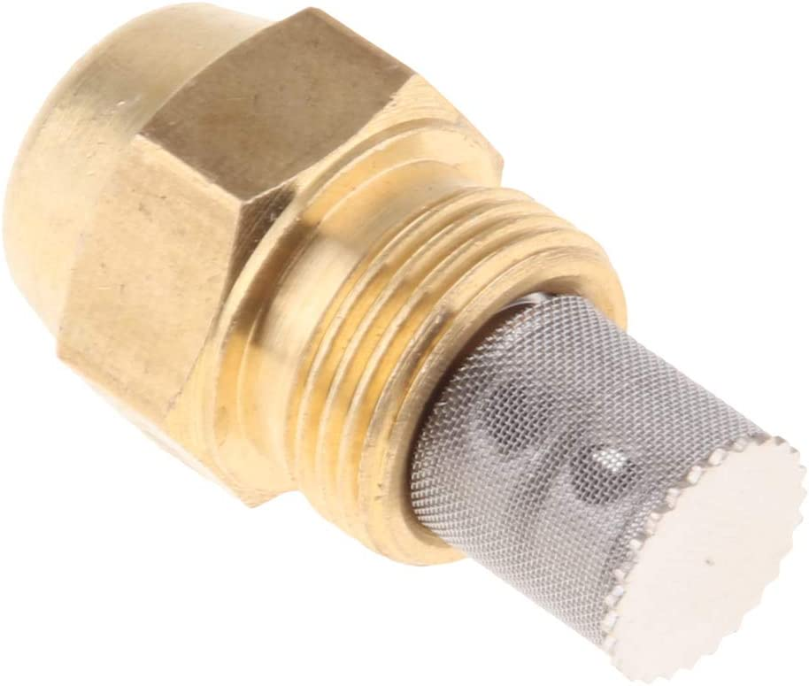 Baoblaze Precision Brass Oil Burner Nozzle for Oil Fired Furnace,Boilers,Water Heater - Golden 1.2mm