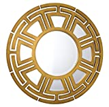 French Heritage Sahara Mirror, Yellow Finish