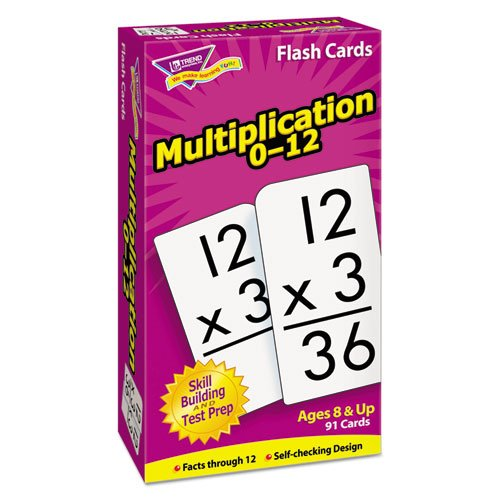Multiplication 0-12 Flash Cards by Trend Trend Enterprises Inc.