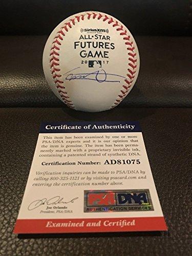 Vladimir Guerrero Jr Jays Signed Autograph 2017 Futures Game Baseball PSA/DNA Certified Coa Auto ()
