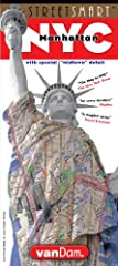 VanDam's 2019 StreetSmart® NYCMidtown Edition maps all top attractions including museums, major architecture, hotels, theaters, shopping destinations, and the subway system for all of Manhattan at an immensely legible scale of 1:32,000 comple...