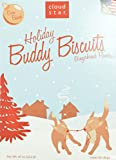 Cloud Star Holiday Buddy Biscuits Dog Treats, Gingerbread Flavor, 16-Ounce Boxes (Pack of 4)