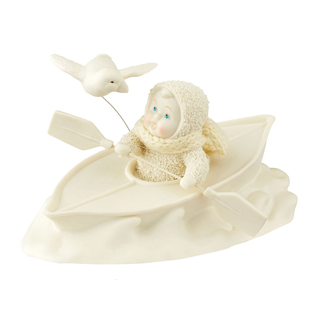Department 56 Snowbabies Classics Riding Rough Waters Together Figurine, 4.49''