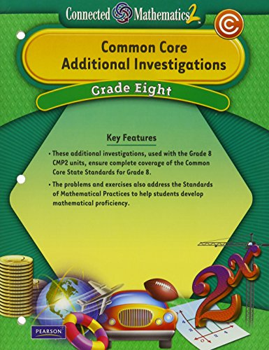 CMP2 Common Core Additional Investigations: Student Guide, Grade 8