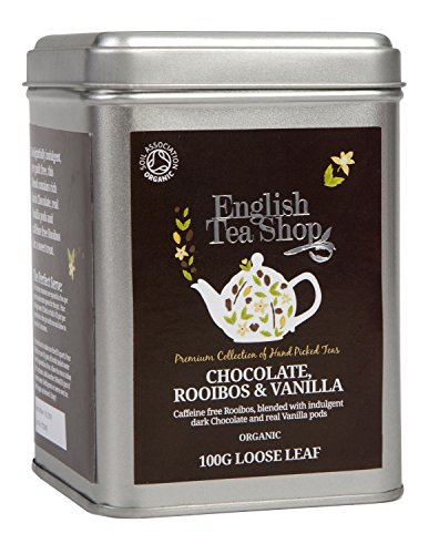 English Tea Shop - Schokolade Rooibos & Vanille, BIO, Loser Tee, 100g Dose
