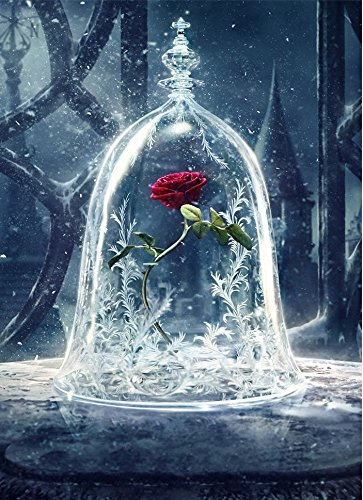 Sqailer 5D DIY Diamond Painting Full Square Drill Rose Rhinestone Embroidery for Wall Decoration 12X16 inches