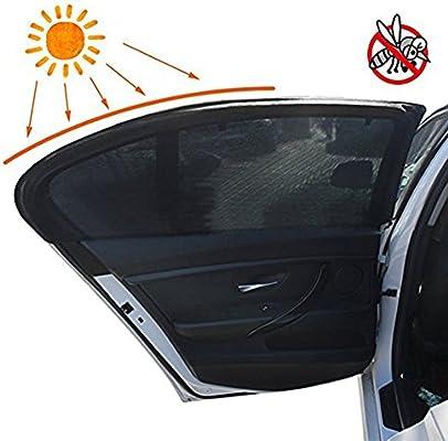 Sombra de sol del coche,SHABEI malla Ventana de coche Sun Shades ...