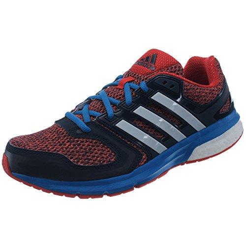adidas, Scarpe da corsa uomo rosso rosso/blu/bianco