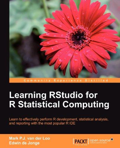Learning RStudio for R Statistical Computing by Edwin de Jonge , Mark P.J. van der Loo, Publisher : Packt Publishing