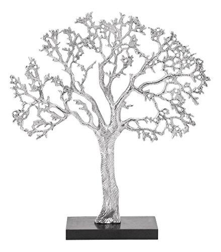 Deco 79 Aluminium Tree Decor, 19 by 17-Inch