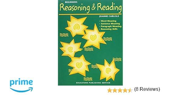 Amazon.com: Beginning Reasoning and Reading (9780838830017 ...