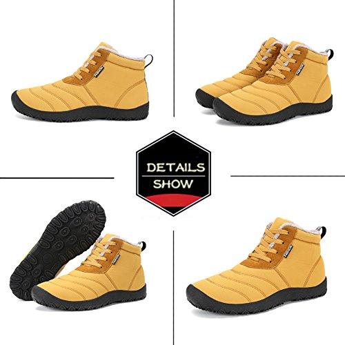 Uomo impermeabili invernali Outdoor Stivali chiaro Walking DIERDI Shoes Marrone Timberland Stivali dXOqBpEnxw