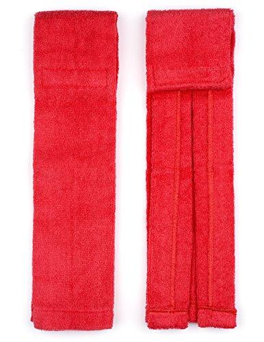Suddora Football Towel w/ Velcro Closure (Red)