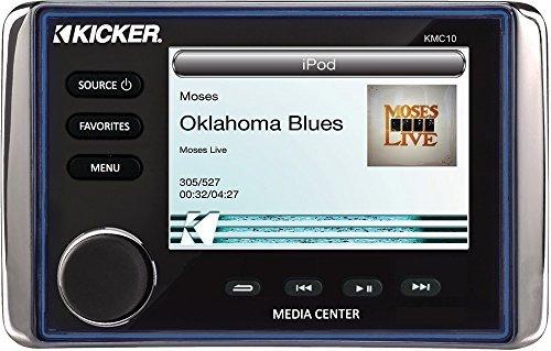 Kicker KMC10 All-in-One Media Center (Marine Stereo Kicker)