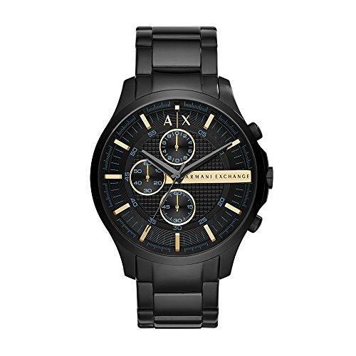 (Armani Exchange Men's AX2164  Black  Watch)