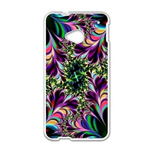 Artistic aesthetic fractal fashion phone case for HTC One M7