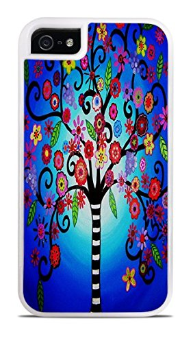 whimsical-floral-tree-of-life-white-2-in-1-protective-case-with-silicone-insert-for-apple-iphone-5-5