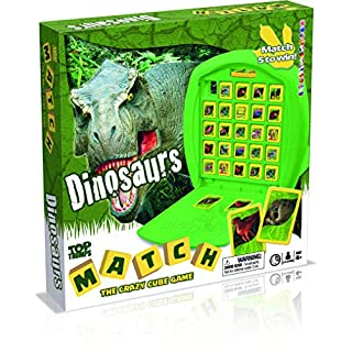 Dinosaurs Top Trumps Match Board Game