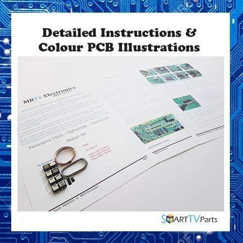 Panasonic TX-P50GT30E Ysus - Kit de Reparación TNPA5335 Sc Bh / Bg (4 , 5 o 7 Flashes): Amazon.es: Electrónica