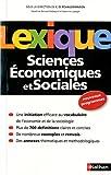Image de Lexique Sciences Economiques et Sociales (French Edition)